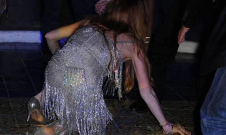 Η επεισοδιακή τούμπα της Lohan και τα νεύρα!