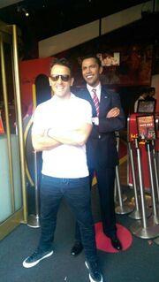 Ο Νίκος Βέρτης συνάντησε τον Ομπάμα