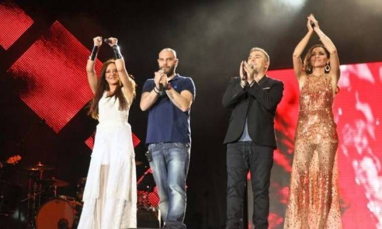 Έφτασε έως 33,3% η συναυλία «Μια χώρα μια φωνή»!