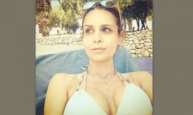 Δήμητρα Σιγάλα: Η selfie φωτογραφία της σε παραλία της Κέρκυρας