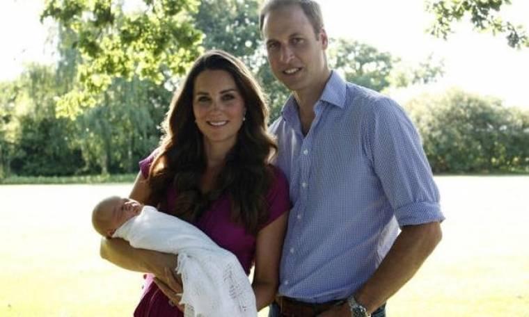 Γενέθλια στο παλάτι του Κέιμπριτζ! Δείτε τον  πρίγκιπα Γεώργιο στα πρώτα του γενέθλια