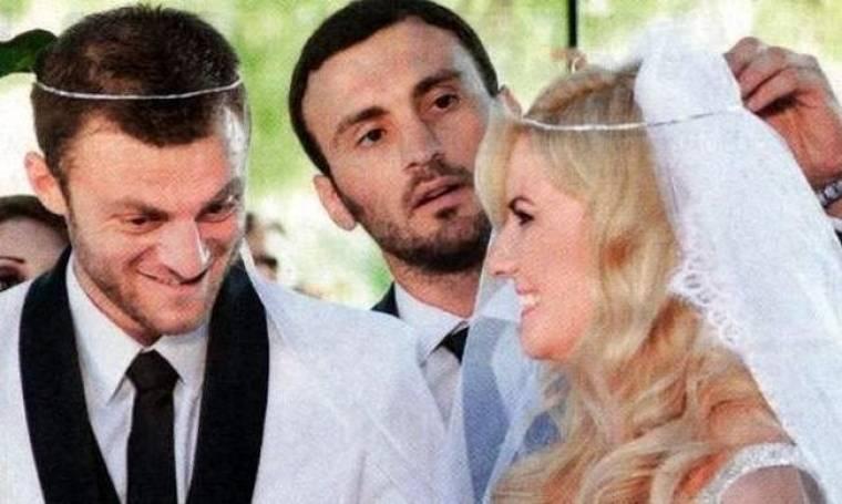 Αβραάμ Παπαδόπουλος: Φωτογραφίες από το γάμο του!