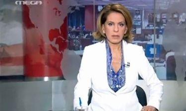 Τρέμη: Οι συγκινητικές στιγμές μετά το τελευταίο δελτίο ειδήσεων στο Mega – Στο πλευρό της ο γιος της