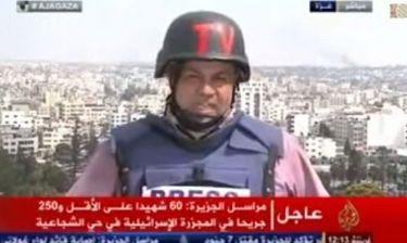 Ξέσπασε σε κλάματα ο ανταποκριτής του Al Jazeera