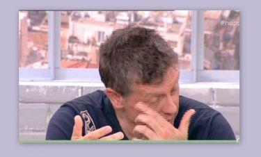 Η συγκίνηση του Σαββιδάκη on air:«Έχασα τον πατέρα μου πριν δώδεκα μέρες. Ήταν μια κατακεφαλιά»