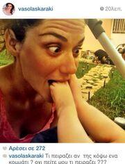 Η νέα τρυφερή φωτογραφία της Βάσως Λασκαράκη με την κορούλα της!