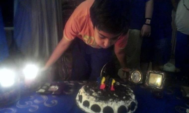 Το πάρτι γενεθλίων του Νικόλα Μπάρκουλη και το ζεϊμπέκικο της Άννας Φόνσου (φωτό)