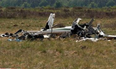 Τραγωδία στη Σπάρτη: Δύο νεκροί από πτώση ιδιωτικού αεροσκάφους
