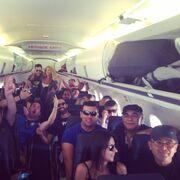 Κατερίνα Στικούδη: «Ανάβει φωτιές» ακόμα και στα αεροπλάνα (φωτό)
