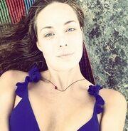 Αντωνία Καλλιμούκου: Selfie στην παραλία και χωρίς μακιγιάζ