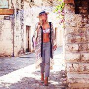 Μαρία Ηλιάκη: Πήγε βόλτα φορώντας το μαγιό της