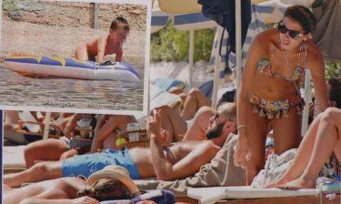 Σπανούλης-Χοψονίδου: Οικογενειακώς στην παραλία
