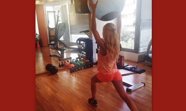 «Λιώνει» στην γυμναστική το κορμί!