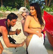 Δύσκολη δουλειά για τους συνεργάτες της Kim Kardashian!