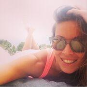 Αυτά είναι! Δείτε την selfie της Χρουσαλά από την παραλία