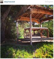 Δέσποινα Βανδή: Η φωτογραφία στο Instagram από την Σκιάθο
