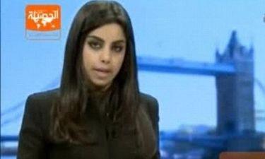 Η πρώτη anchorwoman χωρίς μαντίλα στην Σαουδική Αραβία