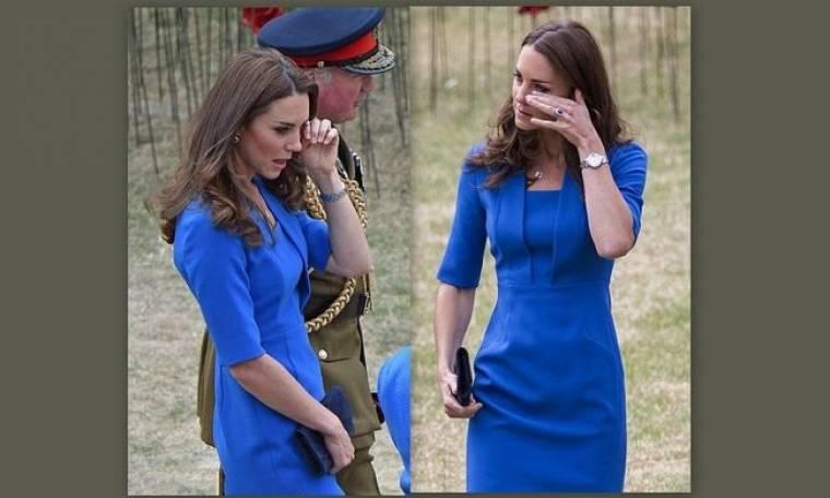 Δεν μπόρεσε να συγκρατήσει τα δάκρυά της η Kate Middleton