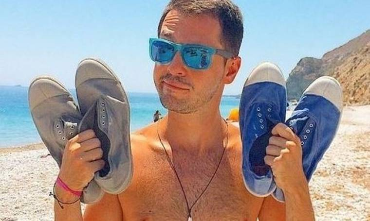 Άλεξ Κάβδας: Είναι σε δίλημμα ποιο ζευγάρι παπούτσια να φορέσει