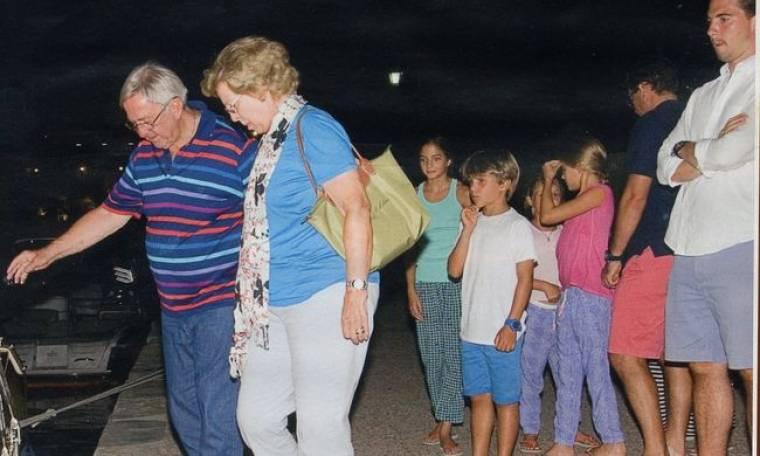 Κωνσταντίνος και Άννα–Μαρία: Οικογενειακή συνάντηση στην Ελλάδα!