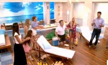 Ο Σταματόπουλος έπεσε on air και η Καινούργιου του «την είπε»!