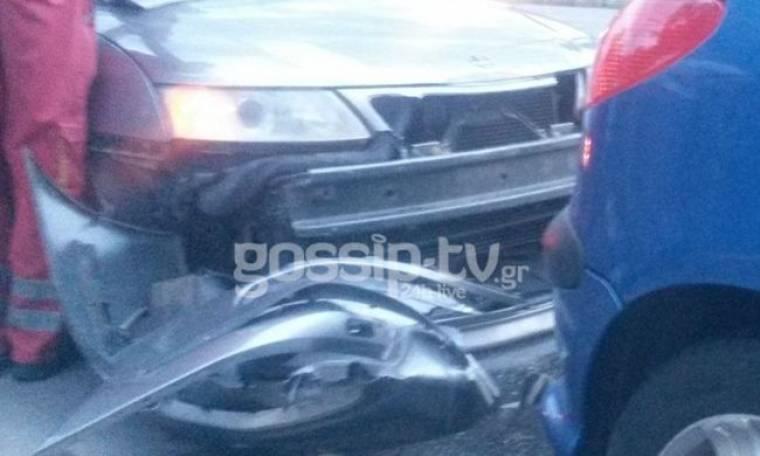 Εικόνα από χθες: Μοντέλο τράκαρε στο Φάληρο και παρ ολίγο να σκοτωθεί… (Nassos blog)
