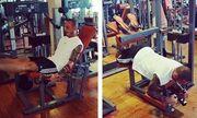 Ο Μπρούνο Τσιρίλο χύνει ιδρώτα στο γυμναστήριο!