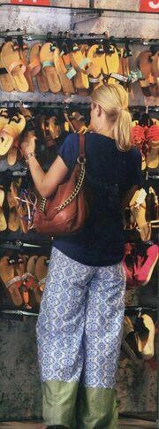 Ράνια Θρασκιά: Για ψώνια στην Χαλκιδική