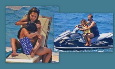 Δέσποινα Βανδή: Οικογενειακώς στην Κρήτη