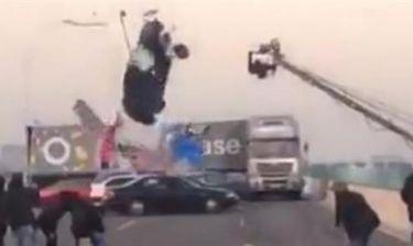 Τρομερό ατύχημα σε γυρίσματα ταινίας