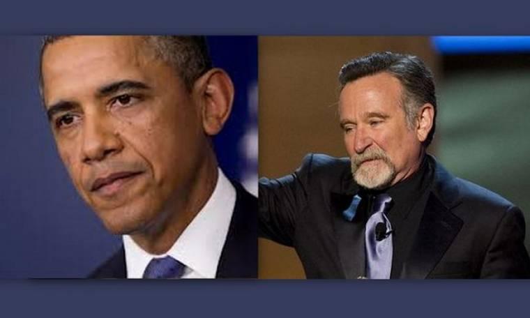Συντετριμμένος ο Μπαράκ Ομπάμα με το θάνατό του Ρόμπιν Γουίλιαμς