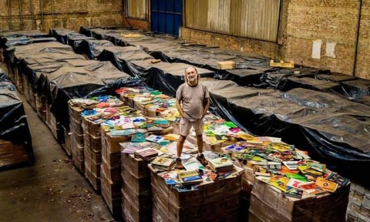 Ο Βραζιλιάνος κροίσος με την μεγαλύτερη συλλογή βινυλίων στον κόσμο!