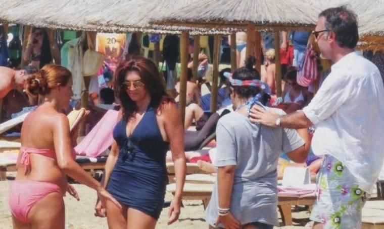 Ντενίση – Πολύζος: Διακοπές στην Σκιάθο
