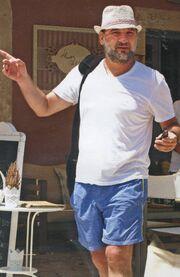 Γιώργος Λεβέντης: Οικογενειακές διακοπές στην Ελλάδα