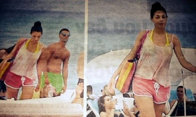 Mοναχικές διακοπές στη Χαλκιδική για την πρωταγωνίστρια της «Μουρμούρας» ...