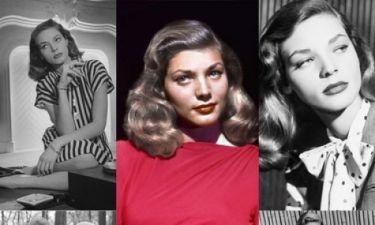 Το υποδειγματικό στυλ της Lauren Bacall