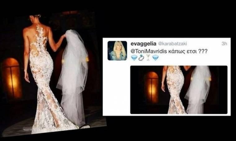 Παντρεύεται ο Τόνυ Μαυρίδης. Δείτε το νυφικό της αγαπημένης του! (Nassos blog)