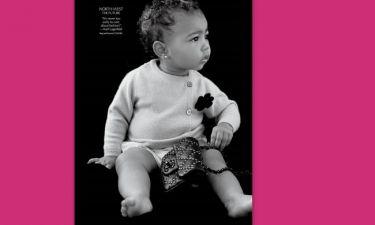 H κόρη της Kardashian έκανε την πρώτη της φωτογράφιση