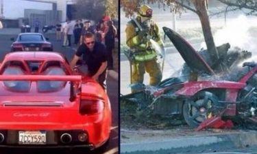 Paul Walker: Έκλεψαν κομμάτια από την Porsche του