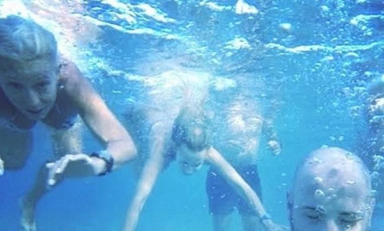 Οι υποβρύχιες βουτιές της Μαρίας Μπακοδήμου