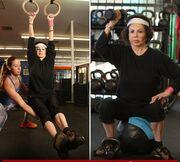 Η μητέρα του Σταλόνα είναι 92 και… γυμνάζεται σαν 20χρονη!