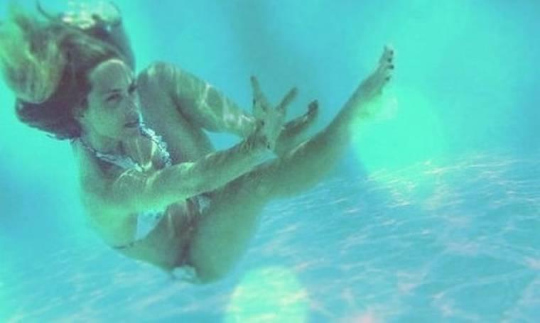 Ντορέττα… underwater!