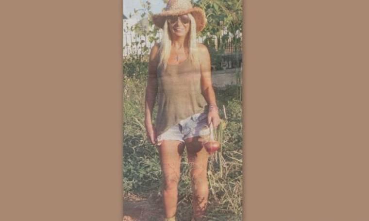 Η Στέλλα Μπεζαντάκου έγινε αγρότισσα!