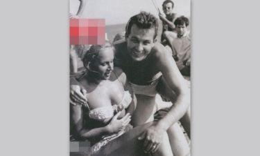 Βουγιουκλάκη – Παπαμιχαήλ: Σπάνιες φωτογραφίες του ζευγαριού πάνω σε σκάφος