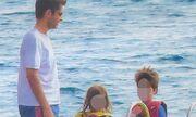 Φοίβος: Με την οικογένεια του στη Σκιάθο