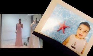 Εικόνες: Η δημοσιογράφος του Mega, το φόρεμα και η βάφτιση του γιού της (Nassos blog)