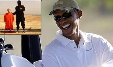 Ομπάμα: Μετά τα… δάκρυα για τον νεκρό δημοσιογράφο πήγε για γκολφ