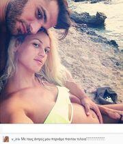 Βάσω Κολιδά: Η τρυφερή φωτογραφία με τον σύντροφο και τη φουσκωμένη κοιλίτσα της