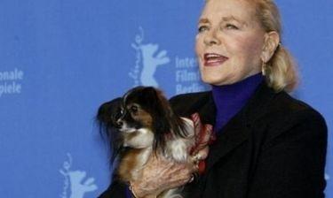Η Λορίν Μπακόλ έχρισε κληρονόμο της το σκυλάκι της
