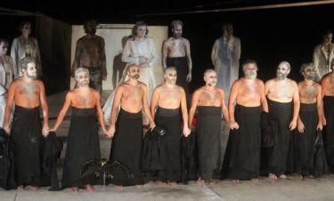 Οι «Πέρσες» εντυπωσίασαν στο Θέατρο Βράχων